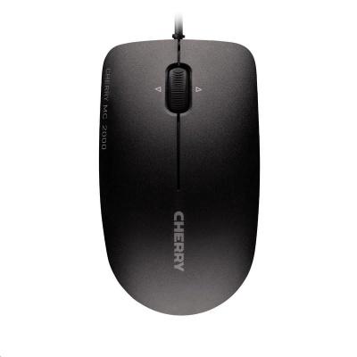 CHERRY myš MC 2000, infračervená, USB, drátová, černá
