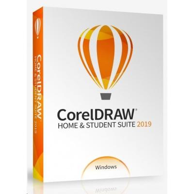 CorelDRAW Home & Student Suite 2019 CZ/PL  BOX