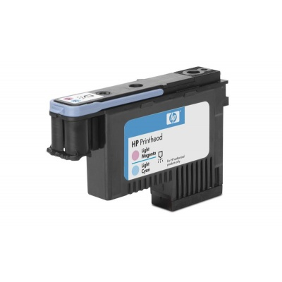HP 91 Light Cyan + Light Magenta DJ Printhead, C9462A
