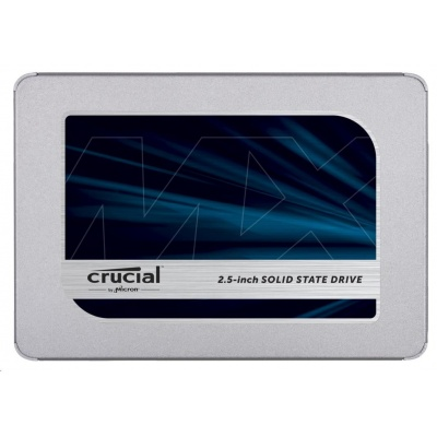Crucial SSD MX500, 250GB, SATA III 7mm, 2,5""