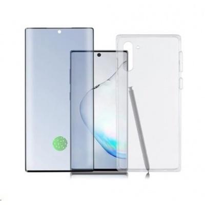 4smarts 360° Premium Protection set (tvrzené sklo UltraSonic a gelový zadní kryt) pro Samsung Galaxy Note 10