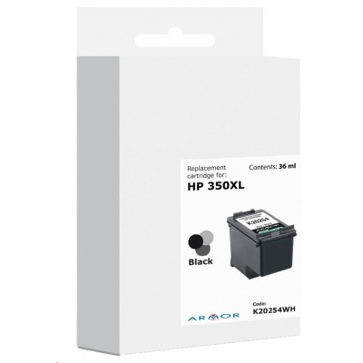 ARMOR cartridge pro HP OJ 5780 černá CB336EE,36ml,nestandardní bal.